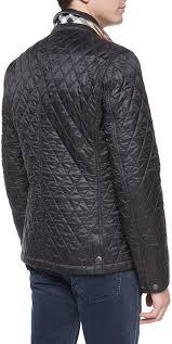 burberry brit howe quilted sport jacket black 495 neiman marcus lookastic com