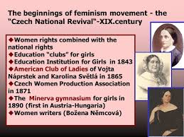 National revival czech women rights