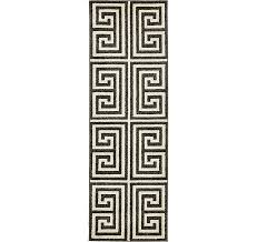 2 x 6 greek key runner rug