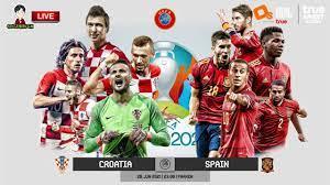 🔴LIVE เชียร์สด : โครเอเชีย พบ สเปน | ยูโร 2020 รอบ 16 ทีมสุดท้าย - YouTube