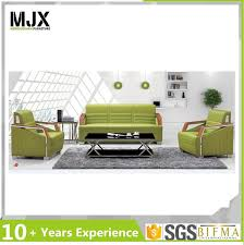 modern office sofa. Leather Modern Office Sofa With Wooden Arm C