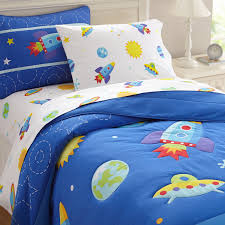 outer space theme bedding
