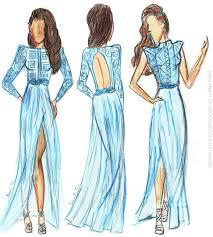 Drawn Dress Fashion Person Free Clipart On Dumielauxepices Net
