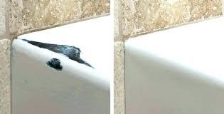 bathtub inlay kit repair in chip home depot shower floor repair inlay ed bathtub