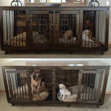 dog crates furniture style. double doggie den xlkennel ideasdog dog crates furniture style