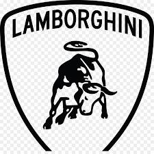 lamborghini logo black and white. Brilliant And Lamborghini Aventador Car Drawing Logo  Lamborghini Inside Black And White L
