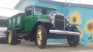 1931 Ford AA Pickup Truck 4 Cylinder Manual Ice delivery Truck Green ...