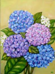 artists and their art hydrangea flower hydrangea and oil