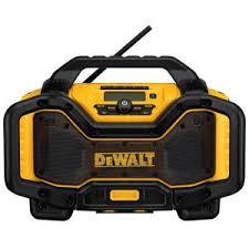 dewalt speaker. dewalt 20-volt or 60-volt lithium-ion battery charger/bluetooth radio-dcr025 - the home depot dewalt speaker