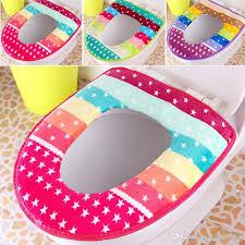2018 winter toilet seat warmer c fleece thicken carpet toilet seat cover soft comfortable baby potty seat overcoat toilet case from kings0905