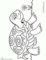 Kleurplaten Schildpad Kleurplaten Kleurplaatnl Tekenen Turtle