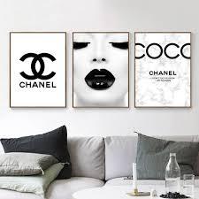 fashion typography gallery wall art