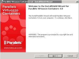 virtuozzo installing virtuozzo containers software