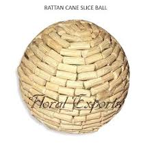 Decorative Cane Balls Interesting Decorative Bowl Fillers Rattan Cane Slice Ball Decorative Bowl