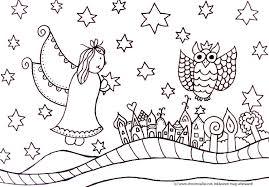 Gratis Kleurplaten Kerst Mandala Kleurplaat Voor Kinderen