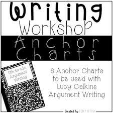 Argument Writing Anchor Charts For Lucy Calkins