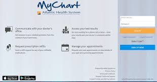 My Chart Atlantic Health Nj Mychart Atlantic Health Picshealth