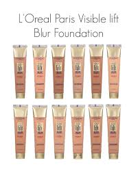 loreal paris visible lift blur foundation shade chart morehd image morehd image morehd image liquid powder mineral