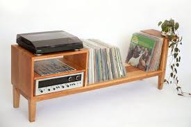Put Your Records Beautiful Wood Media Consoles