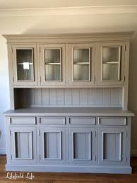 hutch kitchen furniture. Painting Pine Furniture. Hand Painted French Style Hutch By Lilyfield Life Kitchen Furniture