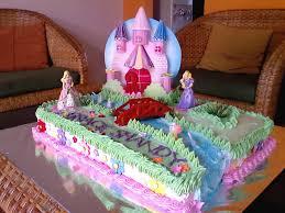 Cupcakes Barbie Design Castle Cakes Decoration Ideas Little Birthday Cakes