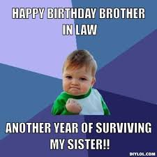 happy birthday brother in law | Resized_success-kid-meme-generator ... via Relatably.com