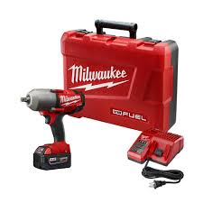 milwaukee power tools logo. m18 fuel 18-volt lithium-ion brushless 1/2 in. cordless high milwaukee power tools logo
