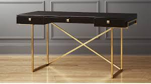high gloss office furniture. Avalon Black High Gloss Desk In Office Furniture Reviews CB2 Regarding Ideas 2