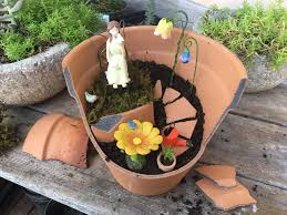 make your own of creative garden arrangements and fairy gardens out of broken pots proving that even a broken pot can be useful and beautiful