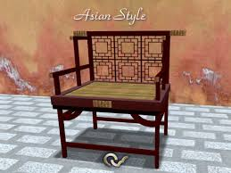 Image Old Armchair Or Bench Asian Style Furniture Japanese Or Chinese Second Life Marketplace Second Life Marketplace Armchair Or Bench Asian Style Furniture