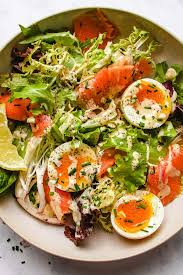 Keto Smoked Salmon Salad Recipe