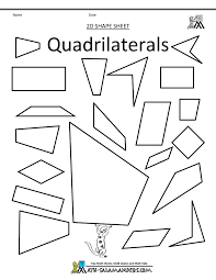 shapes clip art quadrilaterals bw 50 best images about math geometry (quadrilaterals) on pinterest on lesson plan template for special education