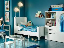 new heights furniture. a blue childrenu0027s bedroom with white extendable bed wardrobe table and desk new heights furniture e