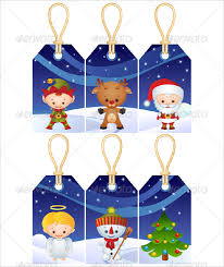 Christmas Tag Template 24 Gift Tag Templates Free Sample Example Format Download