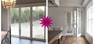 swing doors vs sliding doors pros