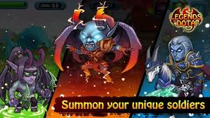 legends of dota v 1 3 mod apk unlimited money hp android