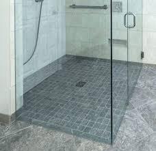 curbless shower systems shower pan