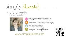 Personal Info Cards How To Design Your Own Business Cards Simplykierste Com