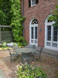 red brick furniture. Patio, Captivating Traditional Brick Patio Designs Also Red Bricks Wall House Cool Outdoor Furniture H