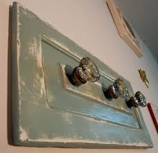 Knob Coat Rack Upcycled Antique Glass Doorknob Coat Rack Mounted on Reclaimed 46