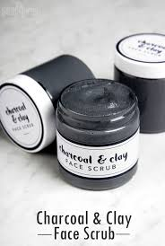 cleansing charcoal scrub diy