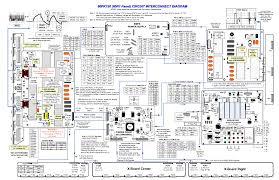 lg  pk  chassis pu a panel  r circuit interconnect diagram    lg  pk  chassis pu a panel  r circuit interconnect diagram service manual