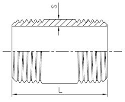 barrel size barrel nipple barrel nipple fittings f10
