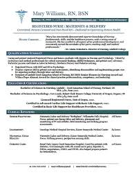 Clinical Experience On Nursing Resume Google Search Nursing Interesting Resume For Nurse