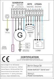 Generator Output Wiring Wiring Diagrams