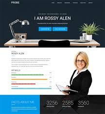 Best Resume Websites 5 Of The Best Joomla Templates For Cv Resume Websites