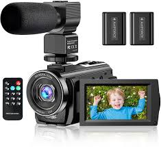 Amazon.com : Video Camera Camcorder YouTube Vlogging Camera FHD 1080P 30FPS  24MP 16X Digital Zoom 3