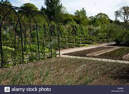 Plantation Designs Devon The Fruit And Vegetable Garden In April At Rhs Rosemoor