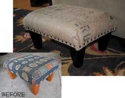 Diy Coffee Table Ottoman 30 Diy Ottoman Projects For Inspiration Frugal Family Fair