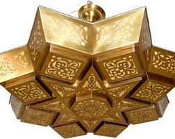 morrocan style lighting. Moroccan Brass Cut Out Star Lighting Chandelier Morrocan Style Lighting N